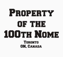 100th Nome Baby Tee