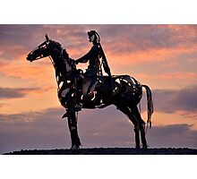 The Gaelic Chieftain  Photographic Print