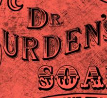 Dr. Durdens Soap Sticker