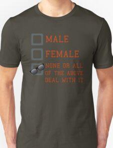 Funny Gender Neutral Unisex T-Shirt