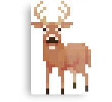 Digital Deer Metal Print