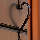 A Doorknob That Has A Heart by daphsam