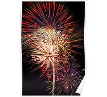 Beautiful Fireworks Display Poster