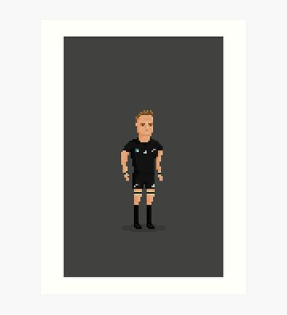 Richie All Black Art Print
