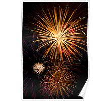 Colorful Pyrotechnics Show Poster