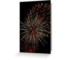 Beautiful Explosions Greeting Card