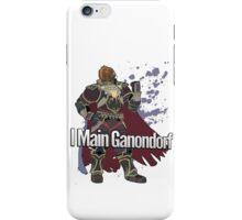 I Main Ganondorf - Super Smash Bros. iPhone Case/Skin