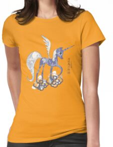 Luna: The Tale of the Moon Horse Womens Fitted T-Shirt