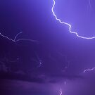Brilliant and Vivid Bolts of Lightning by Kenneth Keifer