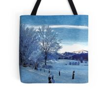 Winter Afternoon, Austria Tote Bag