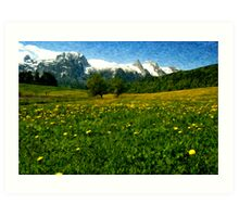 May in Austria Art Print