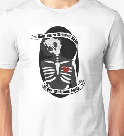 Twin Skeletons Unisex T-Shirt