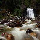 Gardner Creek Falls by EchoNorth
