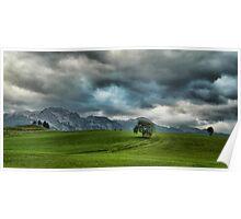 Summer Thunderstorm, Austria Poster
