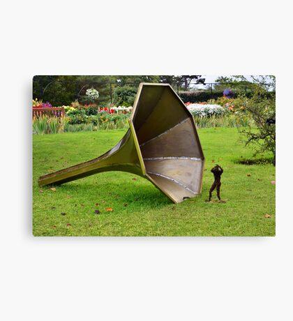Masters Voice Canvas Print