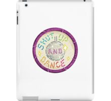 Walk the Moon Shut Up & Dance Embroidery Style Design iPad Case/Skin