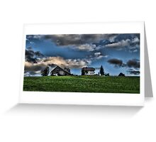 Farm Austria Greeting Card