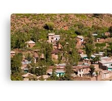 Axum Houses Canvas Print