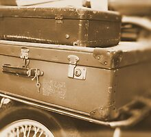 WORN LUGGAGE by OPUS1