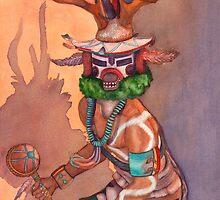 Deer Kachina by asrattner