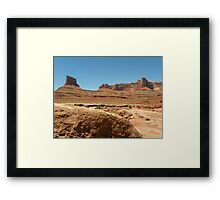 Rough road ahead, 4 Wheel Drive only Framed Print