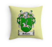 McGuire (Fermanagh) Throw Pillow