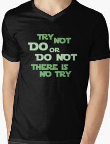 Try Not Mens V-Neck T-Shirt