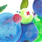 Blueberries by Sally Griffin