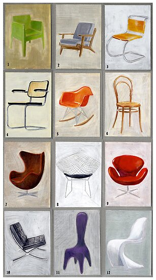 famous chairs by Michele Meister
