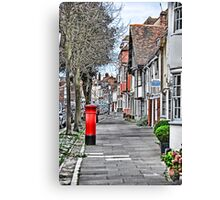 Red Postbox Canvas Print