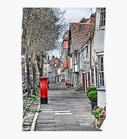 Red Postbox Poster