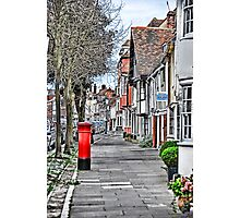 Red Postbox Photographic Print