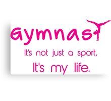 Gynastics, Sports, Gymnast Canvas Print