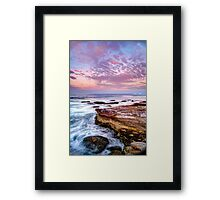 Long Reef, Collaroy Northern Beaches. Framed Print
