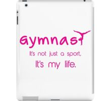 Gynastics, Sports, Gymnast iPad Case/Skin