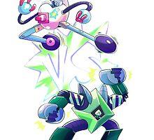 ROBO BATTLE by prpldragon