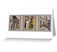 ROMAN TRIO Greeting Card