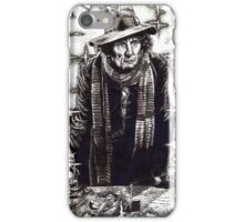 Tom Baker as The Doctor iPhone Case/Skin