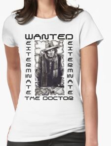 Wanted - The Doctor Womens T-Shirt