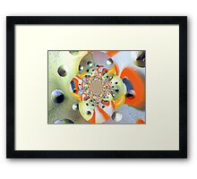 Metallic Universe  Framed Print