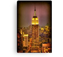 Empire Light, NYC Canvas Print