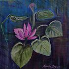 Water Lily Series 1 by Cal Kimola Brown