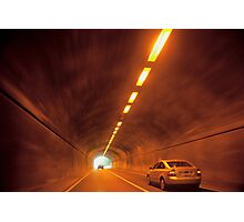 Thru The Tunnel Photographic Print