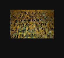 Abstract Golden Blocks Mosaic T-Shirt