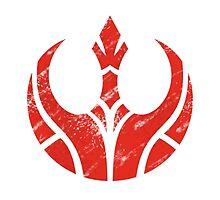 Rebels Segmented Logo (White Background) by JoshBeck