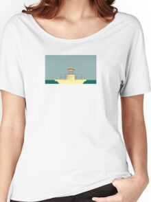 Moonrise Kingdom Lighthouse Women's Relaxed Fit T-Shirt