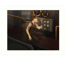 The Steam Room Art Print