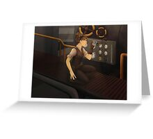 The Steam Room Greeting Card