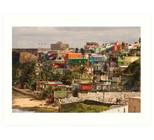 The City Of Old San Juan Art Print