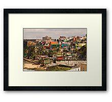 The City Of Old San Juan Framed Print